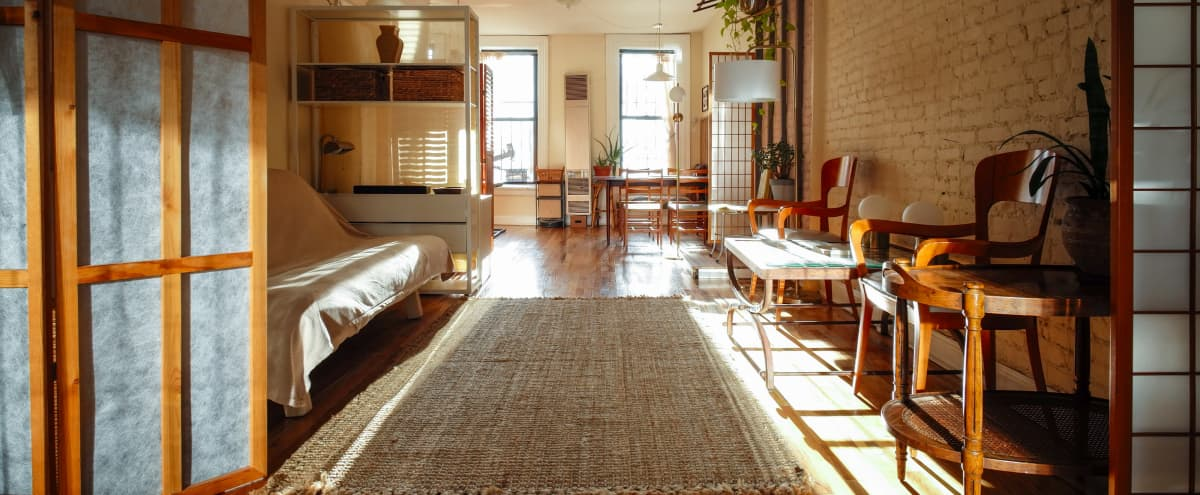 ~Bright Haven~ Meeting Room Table in Brooklyn Hero Image in Williamsburg, Brooklyn, NY