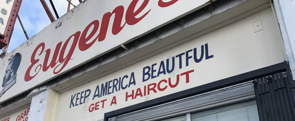 Multipurpose Barber Shop in Los Angeles Hero Image in South Los Angeles, Los Angeles, CA