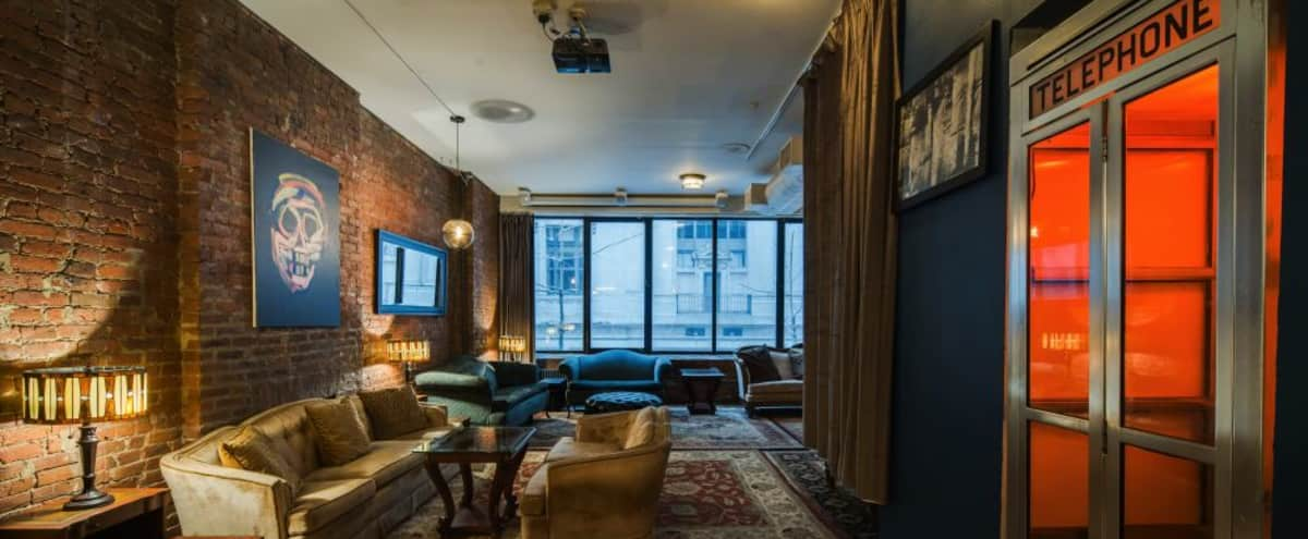 Speakeasy Style Loft in Midtown for Film and Production Events in New York Hero Image in Midtown, New York, NY