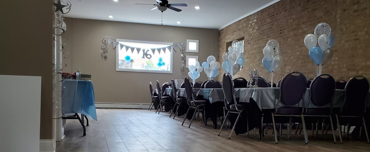 Six corners party/event hall. in chicago Hero Image in Portage Park, chicago, IL