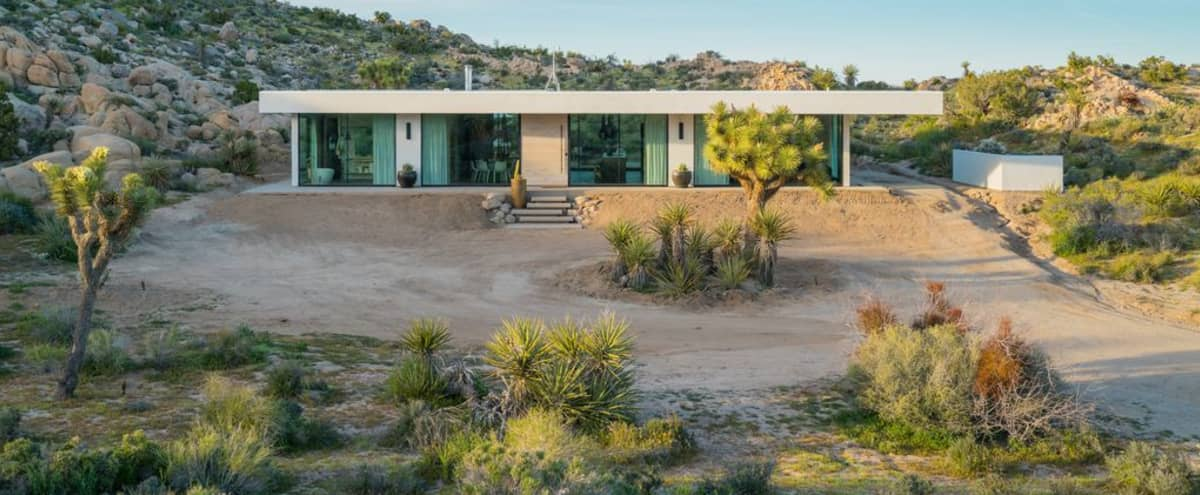 Modern All Glass Villa in Yucca Valley Hero Image in undefined, Yucca Valley, CA