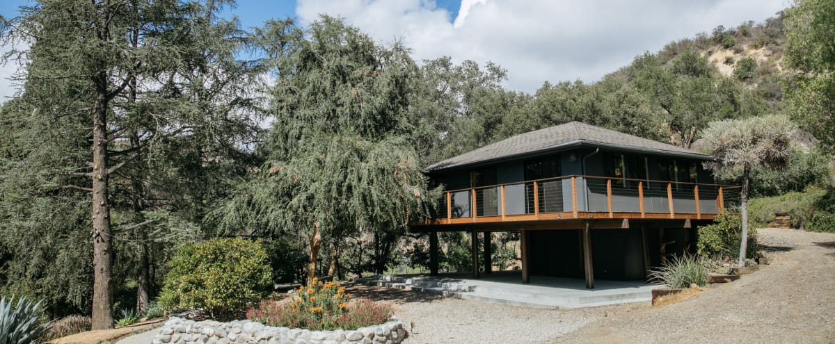 Private Retreat Oasis with outdoor spaces in Topanga Hero Image in undefined, Topanga, CA