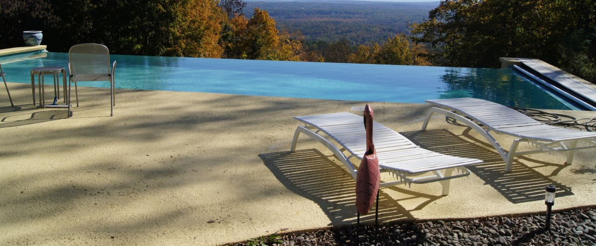 Mid Century Modern Ranch House With Panoramic Views of the Hudson Valley in Bloomingburg Hero Image in undefined, Bloomingburg, NY