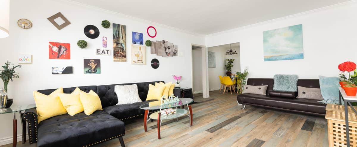 Warm Modern LA Home Space with Urban Vibe in Los Angeles Hero Image in Leimert Park, Los Angeles, CA