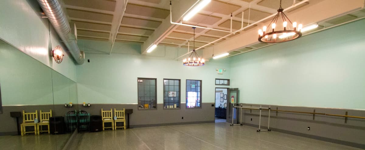 Dance Studio with Open Outdoor and Indoor Space | Studio A in Santa Monica Hero Image in Downtown, Santa Monica, CA