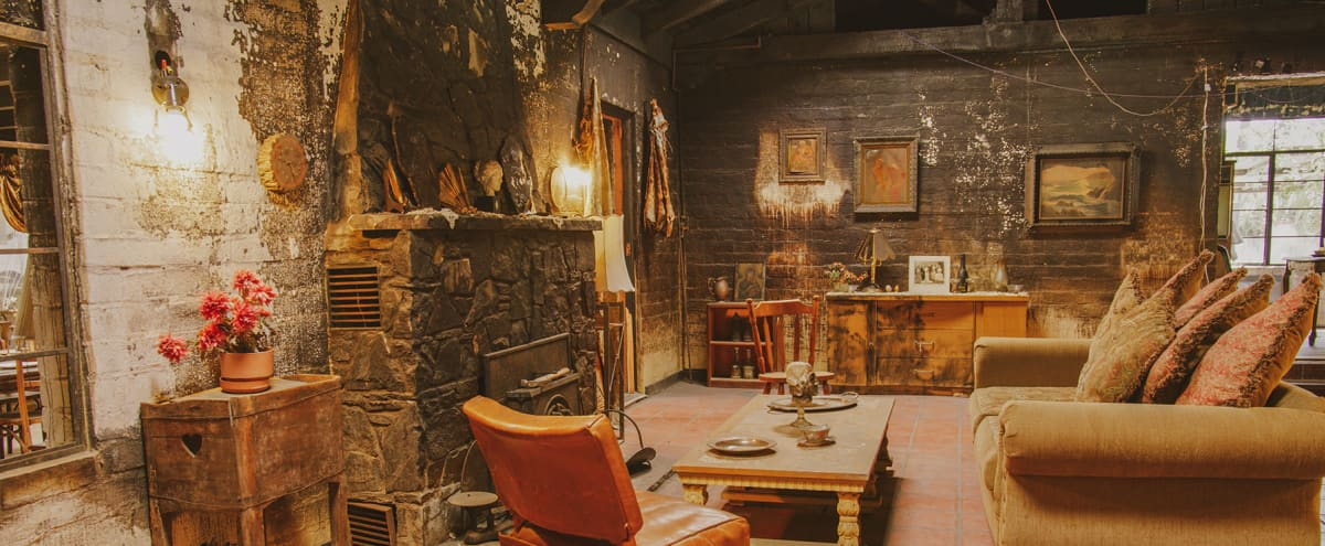 SPOOKY BURNED HAUNTED HOUSE / EERIE CELLAR ~ Halloween Horror Location in Sun Valley Hero Image in Sun Valley, Sun Valley, CA