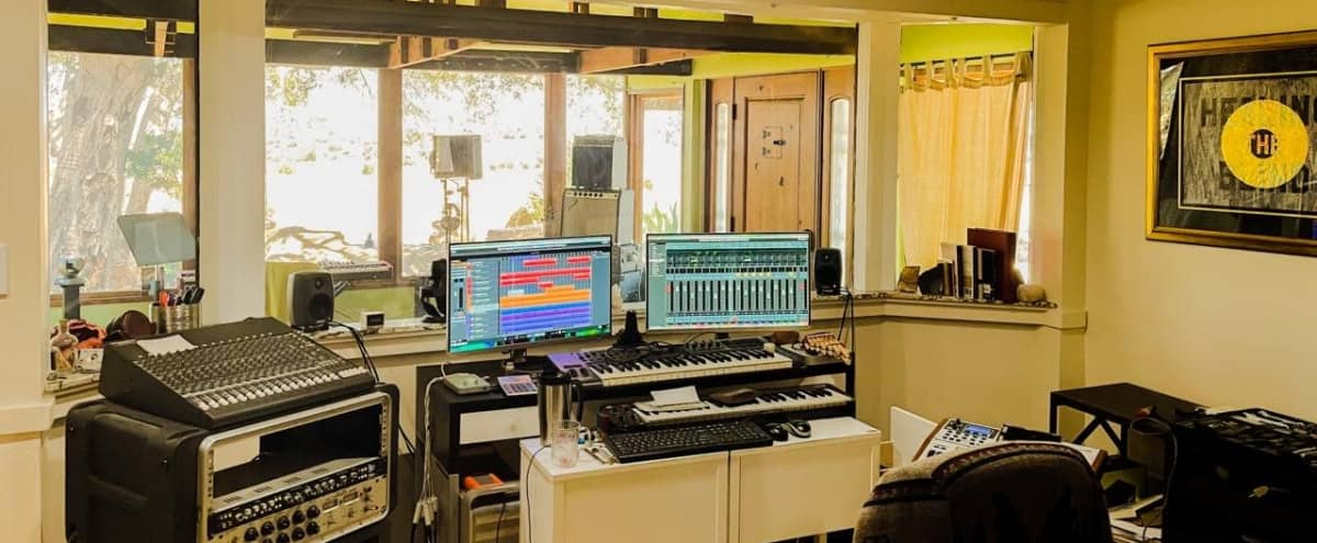 Production Studio and Outdoor Oasis in the Malibu Hills in Canoga Park Hero Image in West Hills, Canoga Park, CA