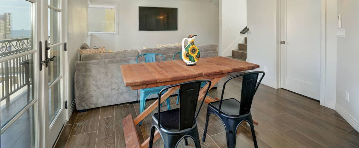 Newly Renovated Beachside Villa with Rooftop Deck and Built-In Grill in Hermosa Beach Hero Image in undefined, Hermosa Beach, CA