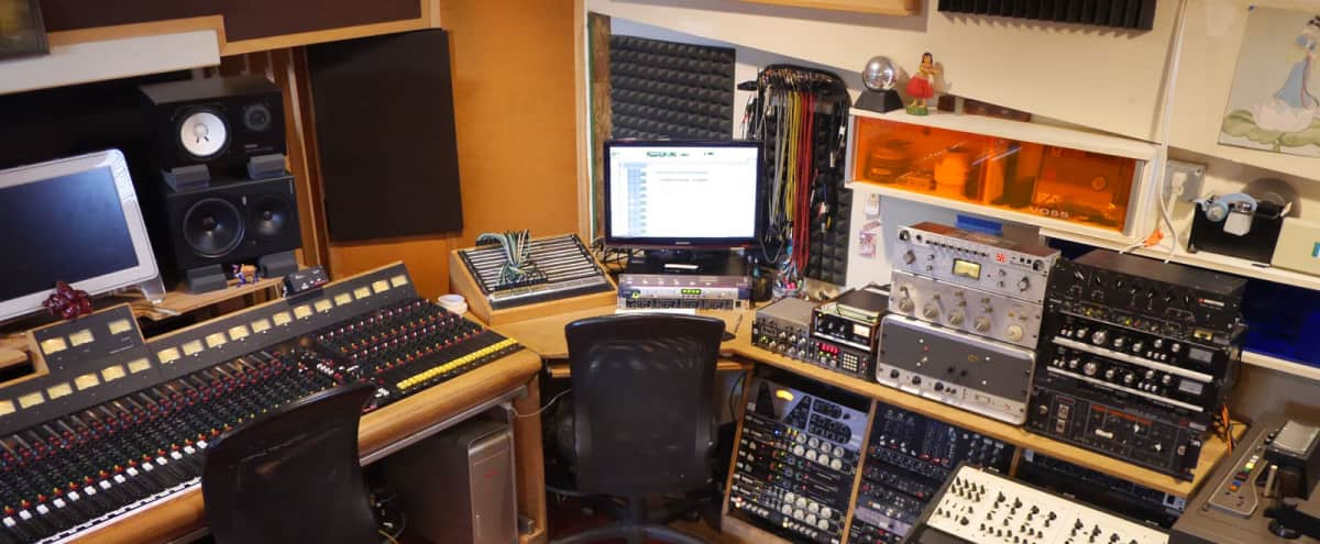 Recording Studio Vintage Vibes in Pasadena Hero Image in Lamanda Park, Pasadena, CA