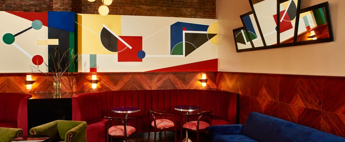 Art Deco Cocktail Bar/Club in TriBeCa in New York Hero Image in Lower Manhattan, New York, NY