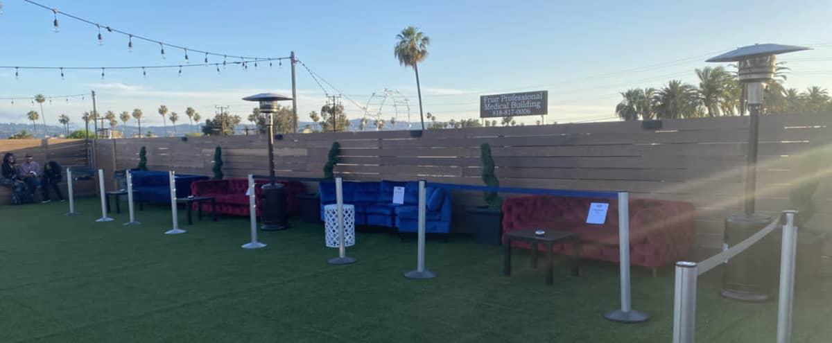 Outdoor Rooftop Lounge Event Space in Van Nuys Hero Image in Van Nuys, Van Nuys, CA