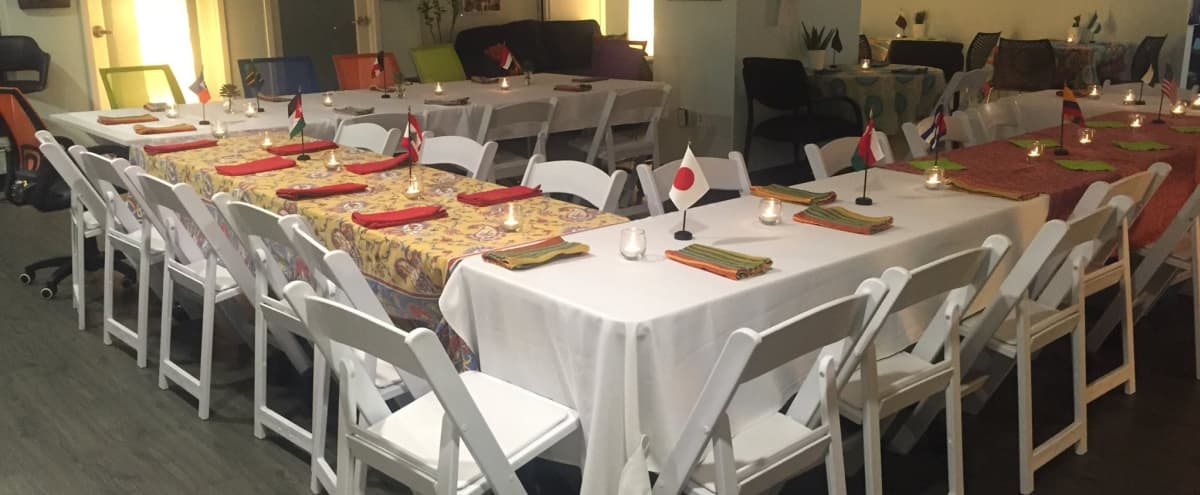 Spacious 2nd Floor Fully Equipped Main Event Space w/Full Kitchen in Miami Hero Image in Coral Way, Miami, FL