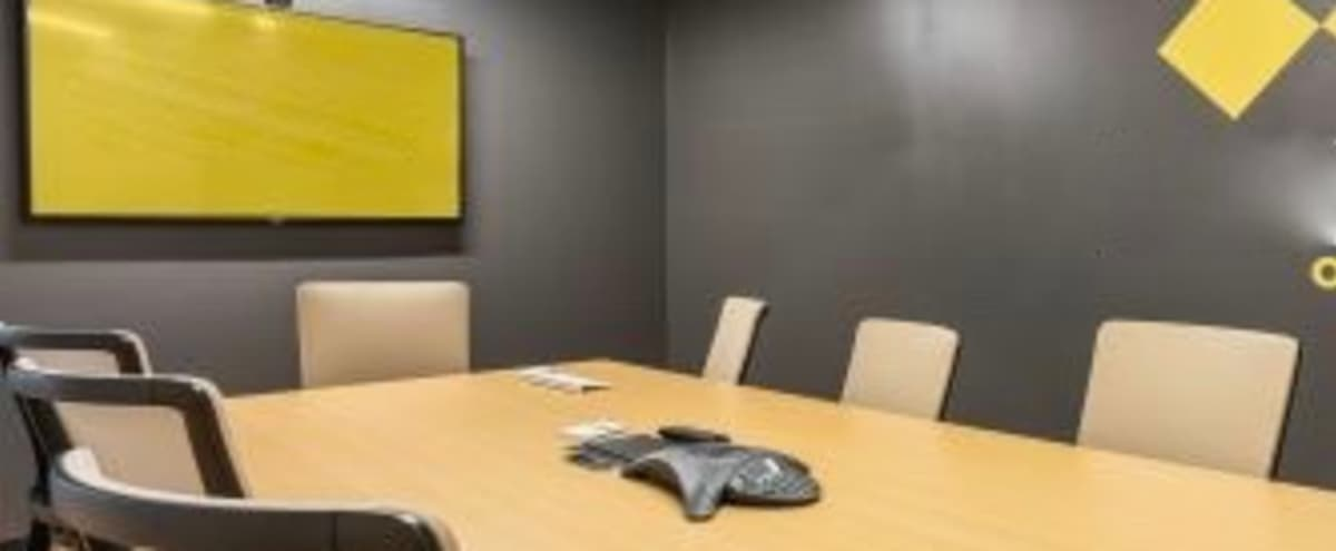Fully Equipped Modern Conference Room for 8 in Orlando Hero Image in Northeast Orlando, Orlando, FL
