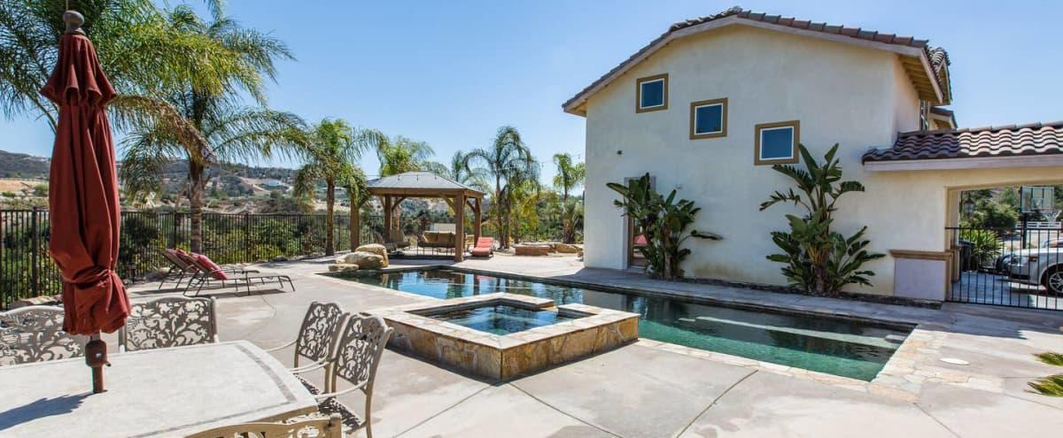 Film/Photo Location: Outdoor Oasis with Beautiful View + Pool in Murrieta Hero Image in undefined, Murrieta, CA