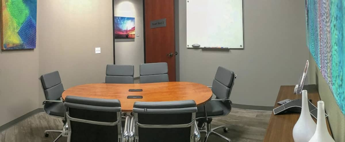 Accommodating Art Inspired 4-6 Person Conference Room Space in Vista Hero Image in undefined, Vista, CA