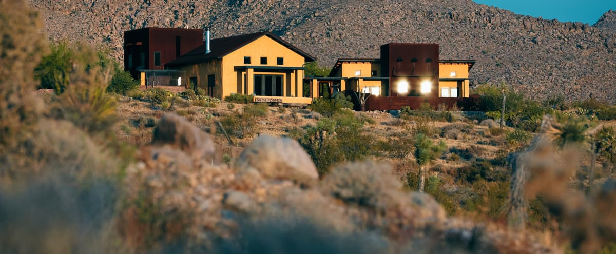 Joshua Tree Luxury Desert Retreat, Inn & Special Events, 1 mile from the park in Joshua Tree Hero Image in undefined, Joshua Tree, CA