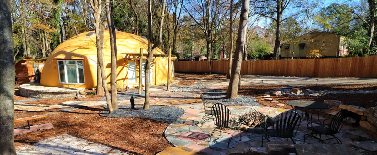 Unique Dome House with outdoor fire-pit in atlanta Hero Image in undefined, atlanta, GA
