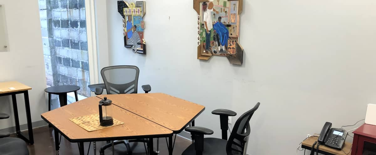 Perfect Small Meeting Room For 4-6 People in Baltimore Hero Image in Moravia - Walther, Baltimore, MD