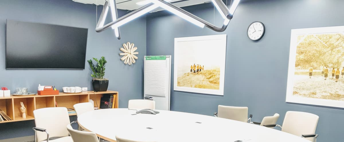Creative Production Meeting Room with Skyline View in Los Angeles Hero Image in Central LA, Los Angeles, CA