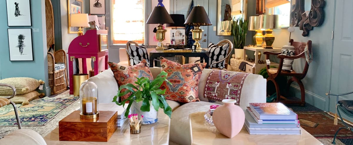 Artfully Curated Studio in Charlotte Hero Image in East Forest, Charlotte, NC