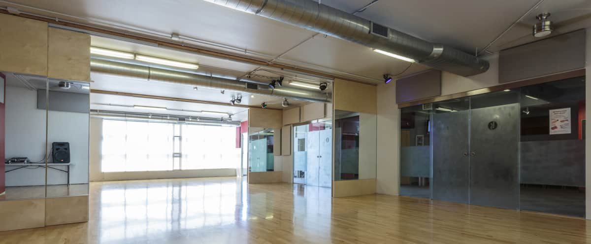 Beautiful Dance Studio in the South Loop | Available for Film/Photo Shoots in Chicago Hero Image in Near West Side, Chicago, IL