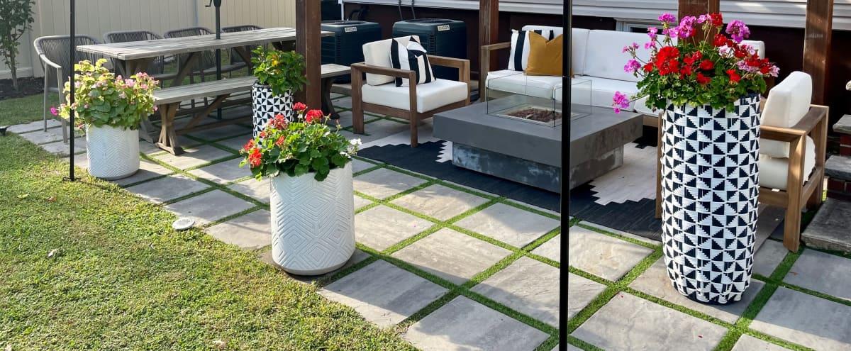 Furnished New Jersey Backyard Oasis with dual patios in Elizabeth Hero Image in undefined, Elizabeth, NJ