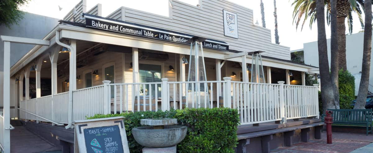 Rustic WEHO Restaurant with Wraparound Porch and Backyard Space in West Hollywood Hero Image in West Hollywood, West Hollywood, CA