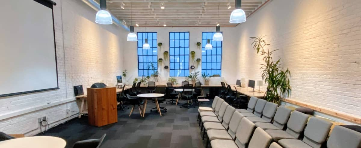 Modern Lofted Meeting Space in SoMa near Moscone Center in San Francisco Hero Image in South Beach, San Francisco, CA