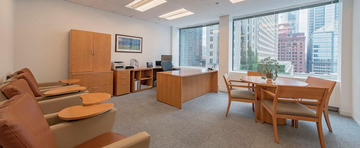 Remote Office In the Middle of West Loop With River and City Views in chicago Hero Image in West Loop Gate, chicago, IL