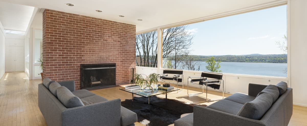 Expansive Modern Design with Panoramic Views Upstate in Newburgh Hero Image in undefined, Newburgh, NY