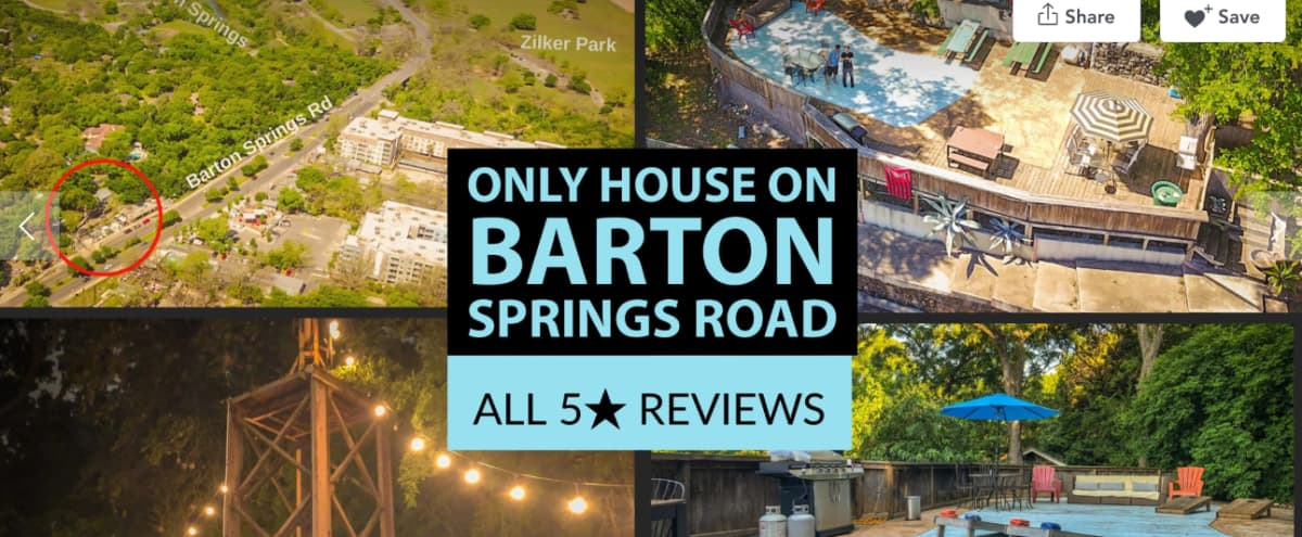 ★ SXSW Availability ★ The ONLY patio overlooking Barton Springs Road ★ 2,000 sq feet in Austin Hero Image in Zilker, Austin, TX
