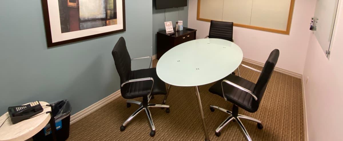 4 Seated Private Conference Room in Bellevue in Bellevue Hero Image in Lake Hills, Bellevue, WA