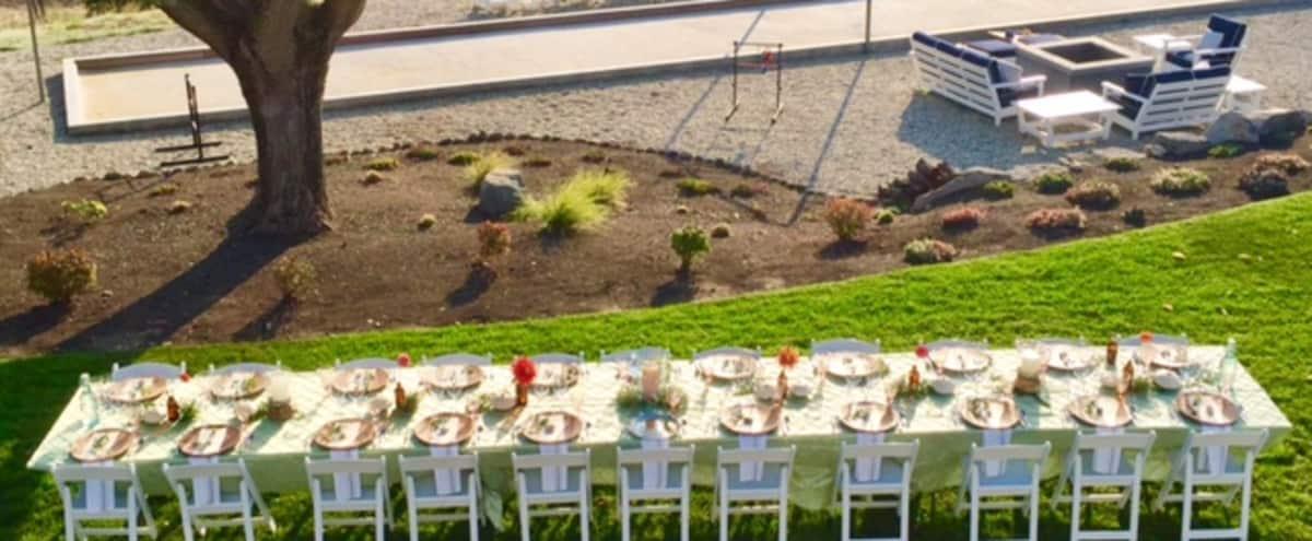 Modern Napa Farmhouse with sweeping 360 degree vineyard views. in Napa Hero Image in undefined, Napa, CA