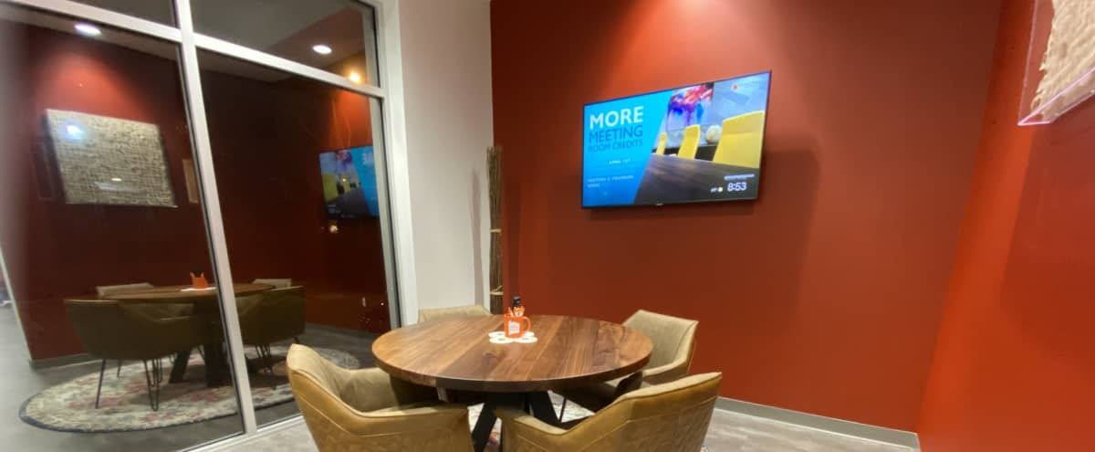 Private, Classy, and Intimate Conference Room or Breakout Space in Dallas Hero Image in Design District, Dallas, TX
