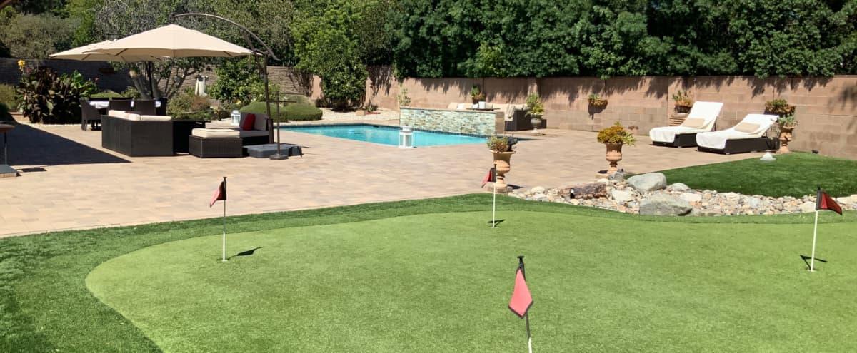 Suburban Single Story With Large Resort-like Backyard in Porter Ranch Hero Image in Northridge, Porter Ranch, CA