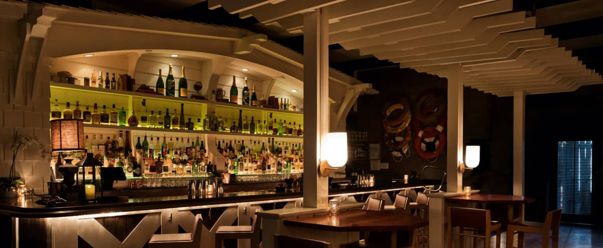 Nantucket Style Beachside Bar and Lounge in Santa Monica Hero Image in Pacific Palisades, Santa Monica, CA