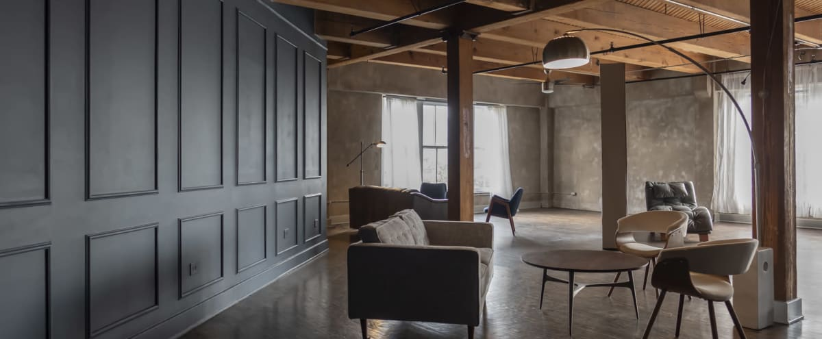 NSR LOFT 1 // Industrial Studio with Natural Light with Transitional Sets - Warehouse District Downtown Houston in Houston Hero Image in Downtown Houston, Houston, TX
