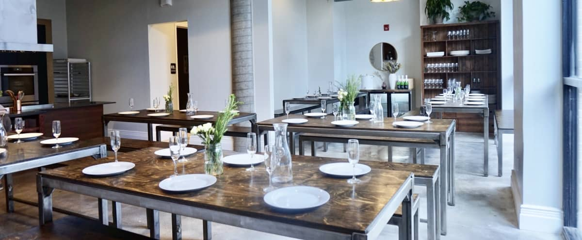 Modern Culinary Studio with beautiful kitchen and amazing light (2 full walls of windows) in Hoboken Hero Image in undefined, Hoboken, NJ