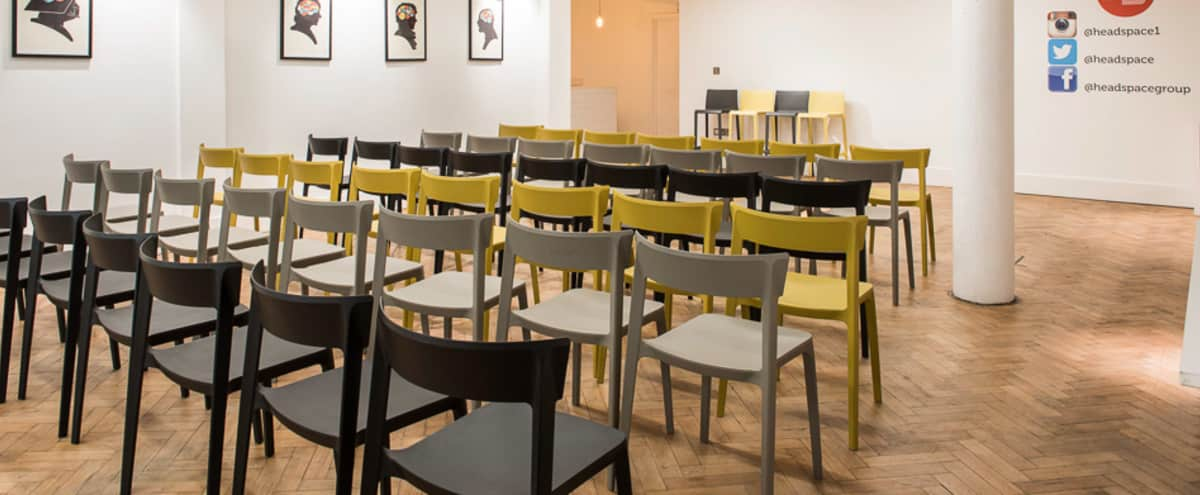 Modern Event Space with Original Features in Farringdon in London Hero Image in Clerkenwell, London,