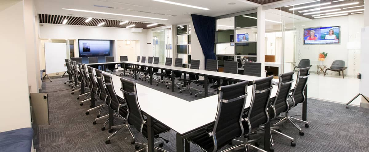 Large Modern Meeting Room I In The Heart Of Times Square TS NEW - Large square conference table