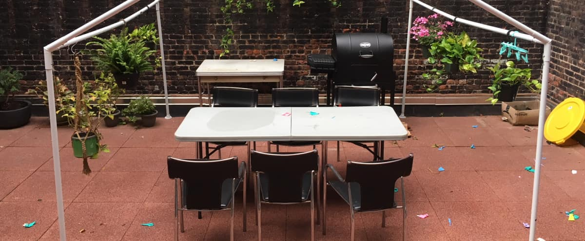 Multi Media Event Space with Audiophile Sound System and Private Backyard in Brooklyn Hero Image in Bushwick, Brooklyn, NY