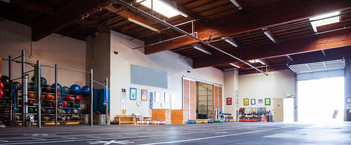 7,000 Sq Ft Historic Warehouse Converted to Modern Athletic Center in Richmond Hero Image in Southwest Annex, Richmond, CA