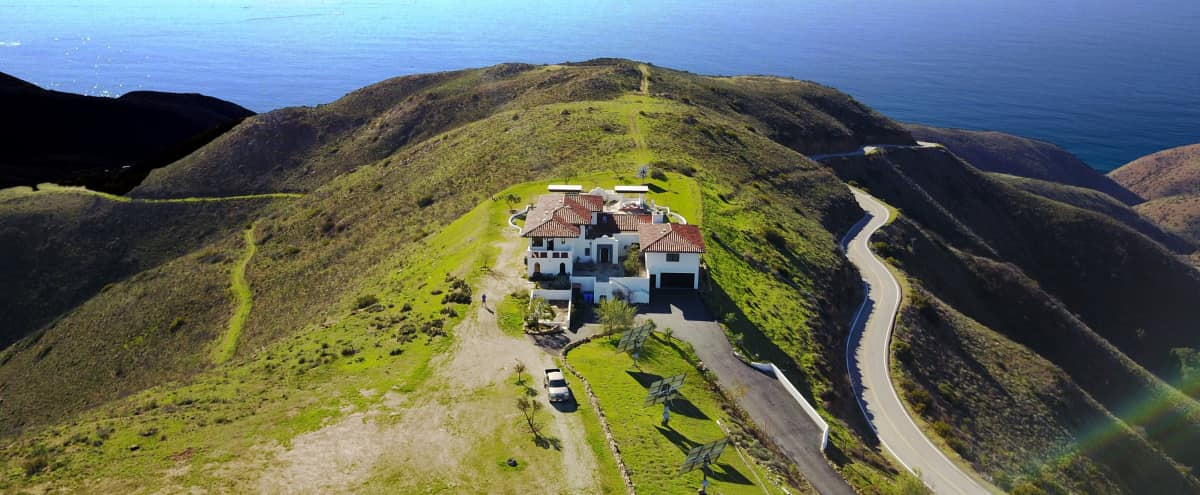 Amazing Malibu Estate on 39 Acres of Ocean View Property. We're lucky to be ok after the fires. in Malibu Hero Image in undefined, Malibu, CA