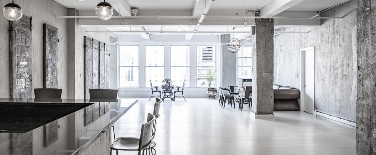 Modern Industrial Manhattan / Hudson Yards Loft and Gallery for Events in New York Hero Image in Midtown Manhattan, New York, NY