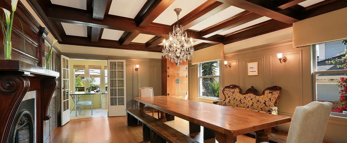 Giant Room in Historic Mansion by Lake Merritt in Oakland Hero Image in Adams Point, Oakland, CA