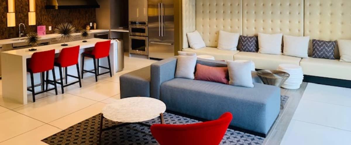 Modern Indoor/Outdoor Clubhouse Lounge in Irvine Hero Image in Irvine Business Complex, Irvine, CA