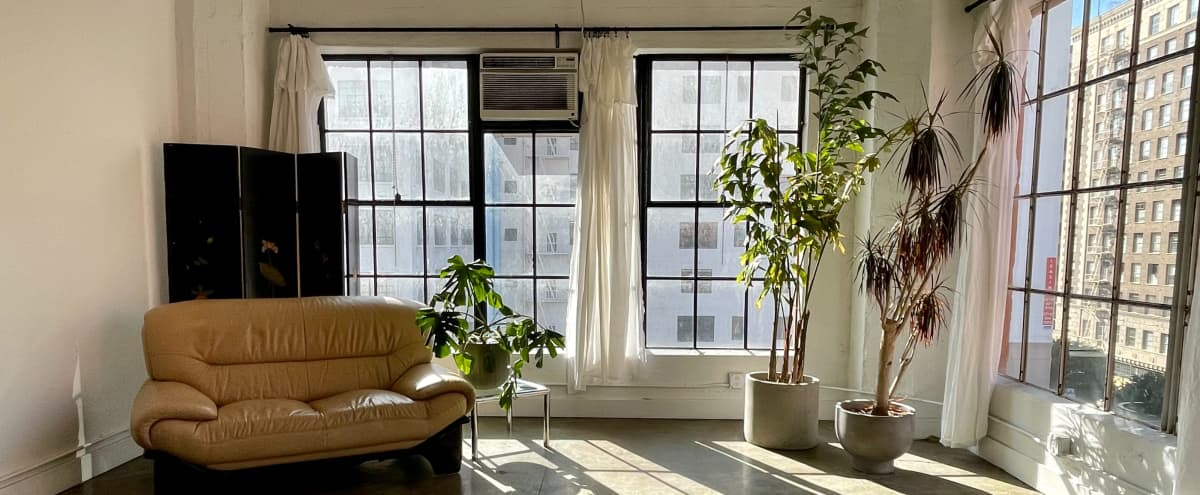Beautiful Loft with Incredible Golden Hour/ Natural Light and Views Downtown in Los Angeles Hero Image in Central LA, Los Angeles, CA