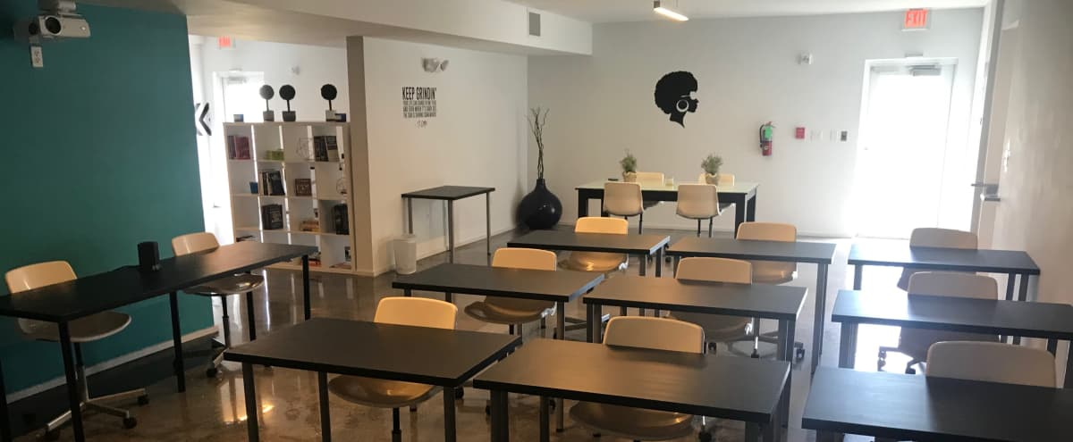 Urban Innovation Multi-Use Classroom For Trainings, Meetings & Presentations in Miami Hero Image in Overtown, Miami, FL