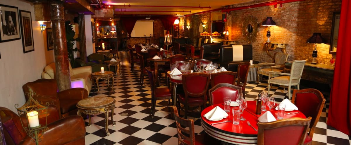 Speakeasy, Spacious, Deco Style in New York Hero Image in Little Italy, New York, NY