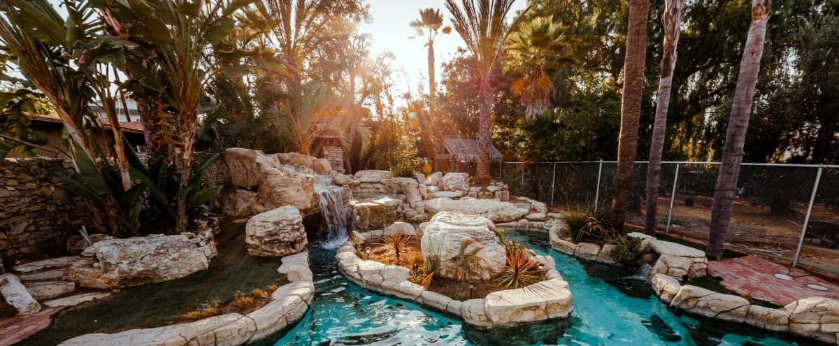 Unique Craftsman Entertainment Home With Exotic Pool in lomita Hero Image in undefined, lomita, CA